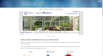 Golden Valley Webdesign providing website design services to Hereford and Herefordshire