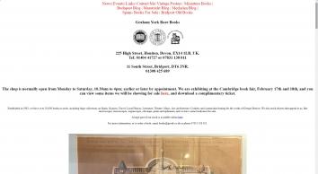 Graham York Rare Books