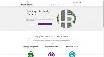 Hadden Rankin Property Management Ltd, Edinburgh, EH3