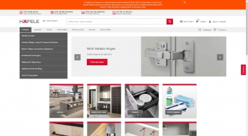 Furniture fittings, architectural hardware, electronic locking systems - Häfele