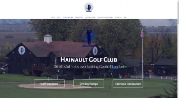 Hainault Golf Club | 36 Stunning Holes Overlooking Central London