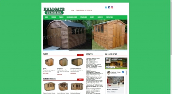 Hallgate Timber - Sheds, Summer Houses, Log Cabins, in Lincolnshire