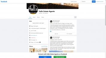 Hall\'s Estate Agents, Brighton, New Road