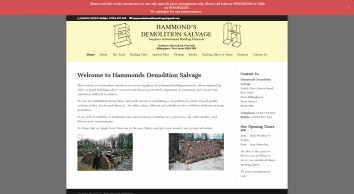 Hammond\'s Demolition Salvage