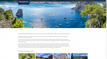 Properties for Sale in Italy with Hamptons International