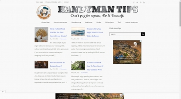 Handyman tips website