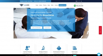Hank Zarihs Associates   Independent Boutique Financier