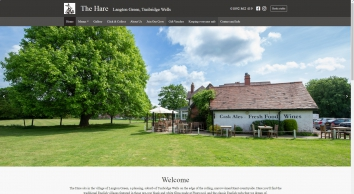 Fresh Food & Cask Ales - The Hare, Langton Green, Tunbridge Wells