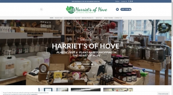 HARRIET\'S OF HOVE - PLASTIC FREE SHOP IN HOVE