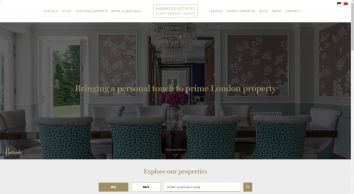 Harrods Estates, agents for luxury London properties in W1, SW1X & SW7