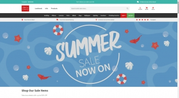 Curtains, Bedding, & Bathroom Accessories | Harry Corry