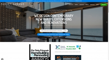 Architects\' in Cambridge and St Alban's — Harvey Norman Architects - Cambridge - St Albans - Bishops Stortford - residential - cambridgeshire - architect