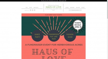Haus of Love Annual Vegan, Sustainability Fashion Event
