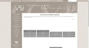 Headboards, Valances, Cushions, Bedrunners, Bespoke Interiors & More | Headboards & Interiors