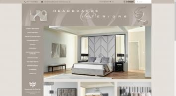 Designer & Luxury Upholstered headboards