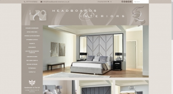 Designer & Luxury Upholstered headboards