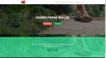 Herbs From Wales :: Organic dried herbs & herbal products
