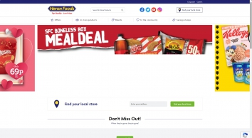Heron Foods - Top Quality, Low Prices. Right up your street!