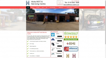 Hicks MOT and Service Centre - Woodley , Reading