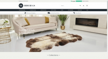 Cowhide Rugs, Sheepskin Rugs and Reindeer Rugs from Hide Rugs                    - HideRugs