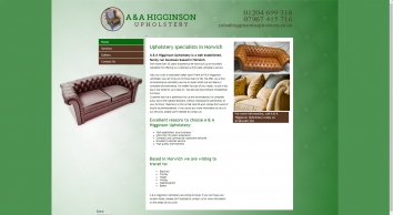 A & A Higginsons Upholstery