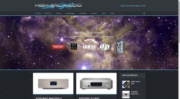 High End Audio - Matériel audio hifi haute qualité