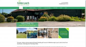 Hilden Park Golf & Leisure Club Hildenborough, Tonbridge   Health Club