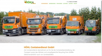 HÖHL Containerdienst GmbH in Speyer