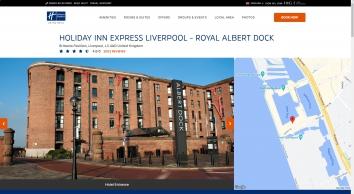 Cheap Budget Hotels In Liverpool Albert Docks   Holiday Inn Express Liverpool