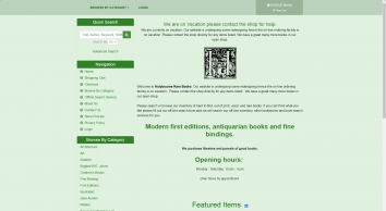Holybourne Rare Books