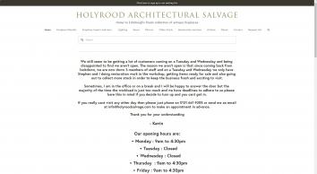 Holyrood Architectural Salvage Ltd