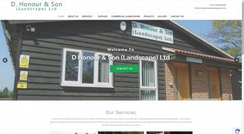 D Honour & Son Landscape - Home Page