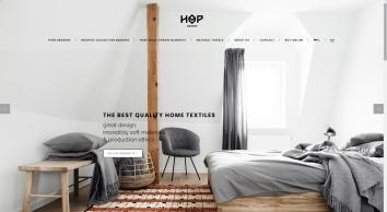 HOP Design | poÅ›ciel i inne dobra do sypialni