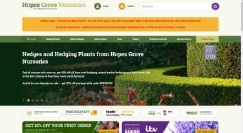 Hopes Grove Hedging Plants
