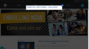 Hopwood Hall College offers a huge range of F.E. courses