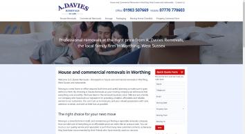 A Davies Removals