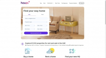 houza - UAE\'s largest real estate portal for properties for sale and rent