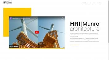 HRI Munro Architecture