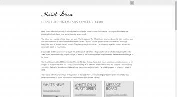 Hurst Green Village