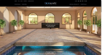 Twinscape - designers and custom manufacturers of solutions for covering and dividing swimming pools. | Twinscape