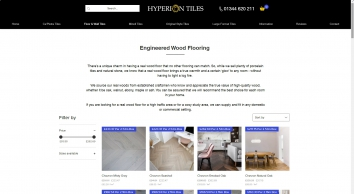 Quality Porcelain Floor Tiles | Hyperion Tiles Ltd