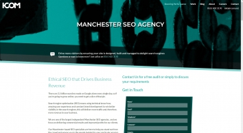 Search Engine Optimisation and on-page SEO services - I-COM, Manchester
