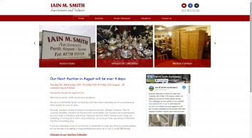 Iain M Smith Auctioneers & Valuers | Perth | Dundee | Angus | Tayside | Scotland| Index