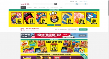 Iceland Foods | Register & Shop | Free Next Day Delivery