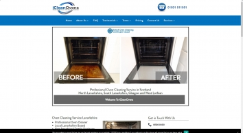 Oven Cleaning Service • Lanarkshire, Glasgow, Edinburgh - Professional