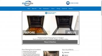 Oven Cleaning Service • Lanarkshire, Glasgow, Edinburgh - Professional