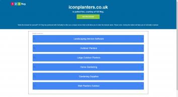 Icon Planters