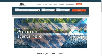 IHG - Book Hotels Online - Over 5,000+ Hotels Across 100 Countries