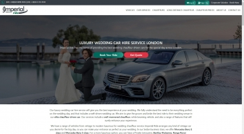 Wedding Car Hire Service London | Imperial Ride