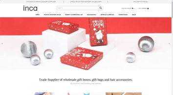 Inca UK - Wholesale Hair Accessories & Gift Packaging Importer